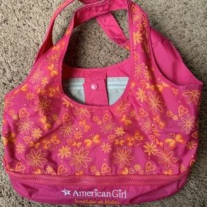 Retired American girl doll carrying case